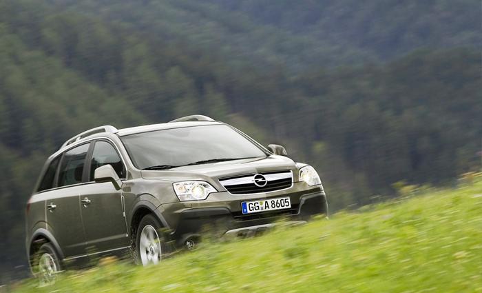 227 «лошадей» Opel Antara