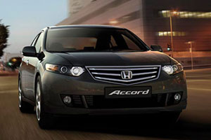Honda Accord стал Автомобилем года 2012
