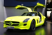 Электрокар Mercedes-Benz SLS AMG E-Cell в Детройте