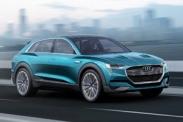 В 2018 году Audi начнет выпускать электрический кроссовер