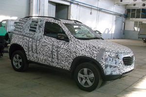 Chevrolet Niva нового поколения