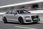 Новое видео Audi S8 plus