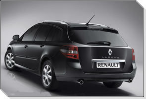 Показали Renault Laguna Black Edition