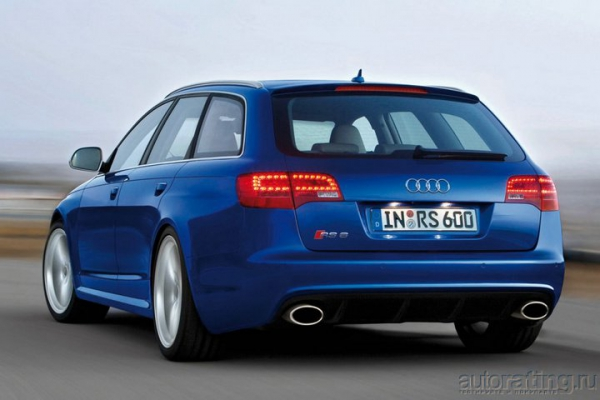 Силовой прием / Тест-драйв Audi RS6 Avant