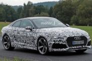Новое купе Audi RS5 замечено в Нюрбургринге