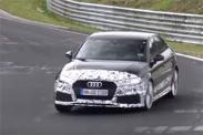 Седан Audi RS3 замечен в Нюрбургринге