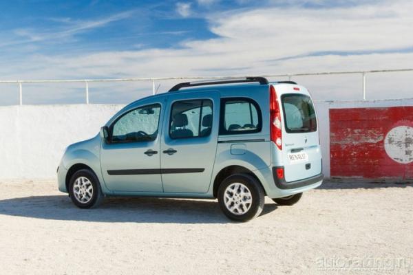 Дом на колесах / Тест-драйв Renault Kangoo