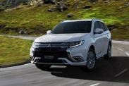 Mitsubishi Outlander PHEV стал мощнее