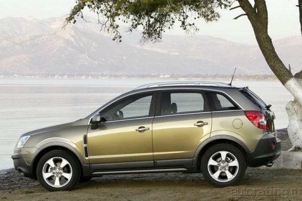 Нет плохой погоды / Тест-драйв Opel Antara, Nissan X-Trail и Honda CR-V