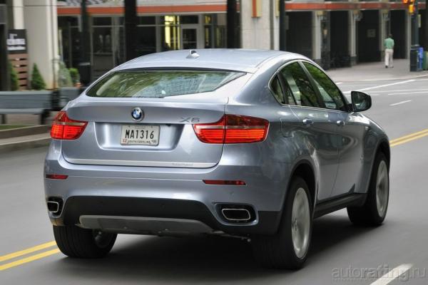 Две стороны медали / Тест-драйв BMW X6