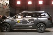 Renault Koleos разбили на 5 звезд