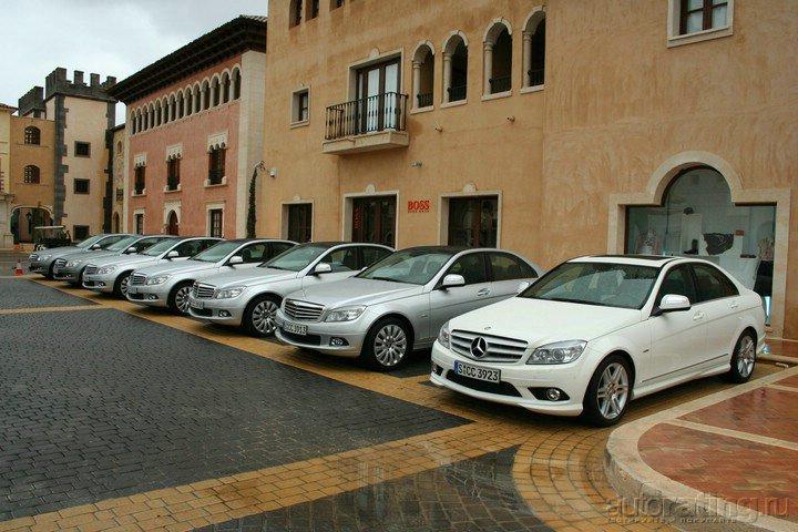 Mercedes-Benz C-class: В обличии конкурента