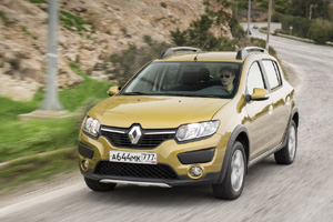 Renault Sandero Stepway, Рено Сандеро Степвей