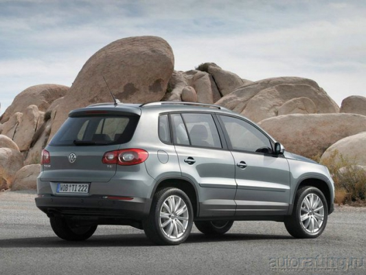 Шах королеве / Тест-Драйв Honda CR-V и Volkswagen Tiguan