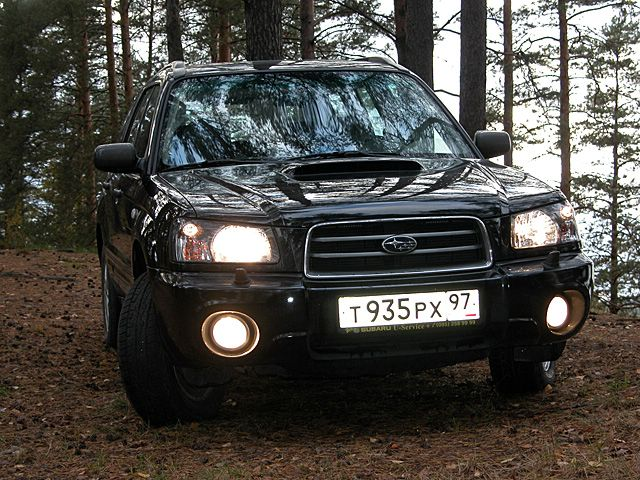 Subaru Forester 2.5 Turbo