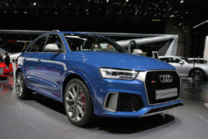 """Горячий "" Audi RS Q3 performance в Женеве"