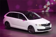 Skoda Rapid Spaceback во Франкфурте