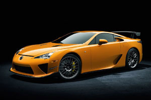 Lexus рассказал о LFA Nurburgring package