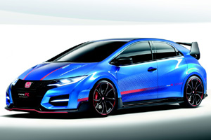 В Женеве состоится премьера серийного Honda Civic Type R