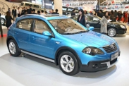Кроссовер Brilliance FRV Cross на автосалоне в Шанхае