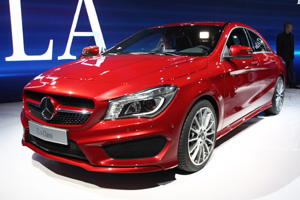 Mercedes-Benz CLA в Детройте