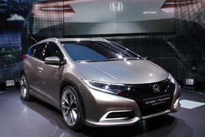 Универсал Honda Civic представлен в Женеве