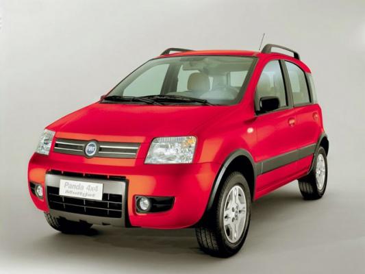 Солнечный зайчик / Fiat Panda 4x4