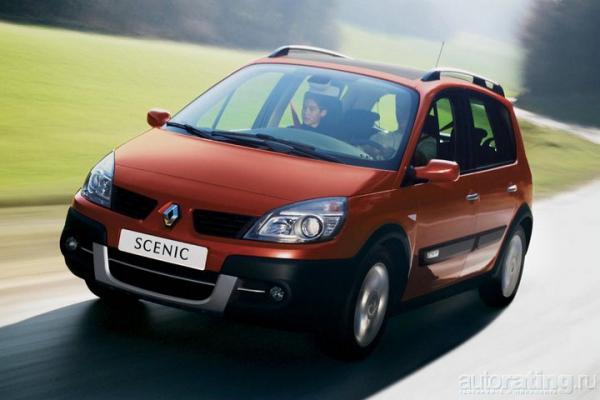 Игра контрастов / Тест-драйв Renault Scenic