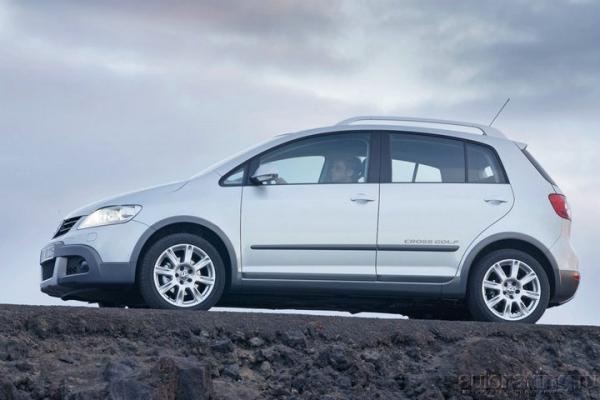 Друг семьи / Тест-драйв Volkswagen Cross Golf