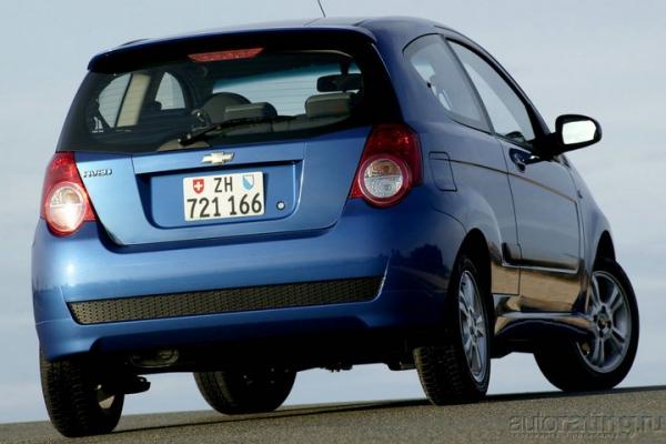 Chevrolet Aveo: 25000 км