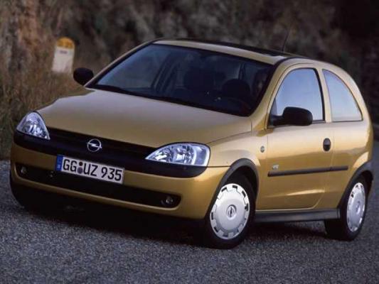Первый экзамен / Тест-драйв Opel Corsa