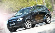 Opel Antara – по горам, по долам.