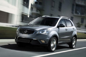 SsangYong NEW Actyon зарядят электричеством
