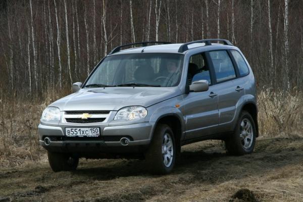 Гусиным шагом / Тест-драйв Chevrolet Niva
