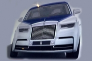 Рассекречен дизайн нового Rolls-Royce Phantom
