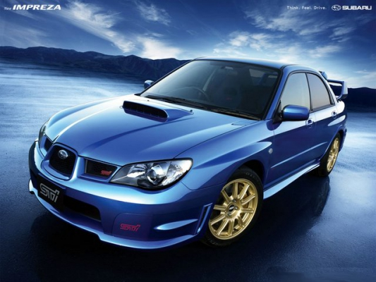 Пятьдесят на пятьдесят / Тест-Драйв Mitsubishi Lancer Evolution IX и Subaru Impreza WRX STI