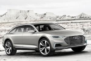 Audi prologue allroad, автосалон в Шанхае