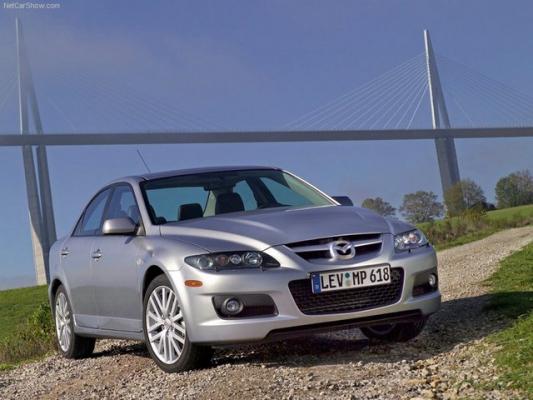 Искусство единения / Тест-драйв Mazda 6 MPS