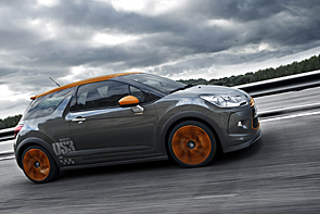 Citroen DS3 Racing: автомобиль со спортивным характером