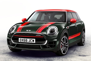 """Горячий"" MINI Clubman John Cooper Works представили в Париже"