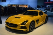 Mercedes-Benz SLS AMG Black Series в Лос-Анджелесе