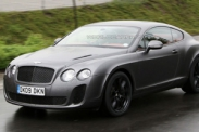 Bentley Continental Supersports Biofuel попался шпионам