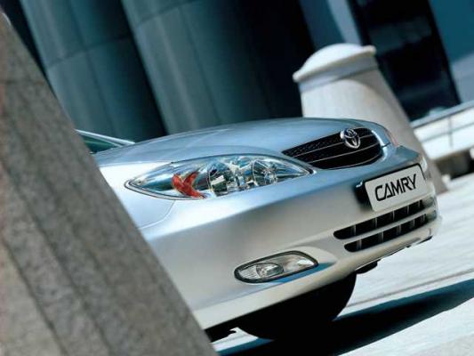 Имидж - это еще не все / Тест-драйв Toyota Camry