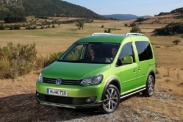 Volkswagen Caddy Cross представят в Париже