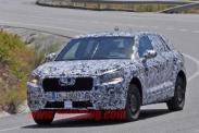 Audi тестирует компактный кроссовер Q1
