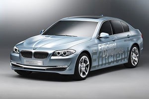 В Женеве покажут BMW 5-Series Active Hybrid