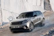 Фото нового кроссовера Range Rover Velar