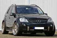 """Заряженный"" Mercedes-Benz ML 63 AMG"