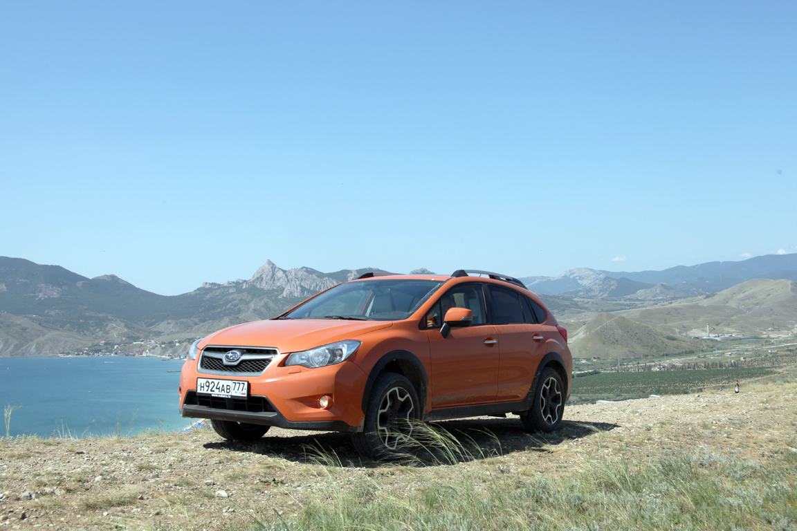 Subaru XV По суше и по морю