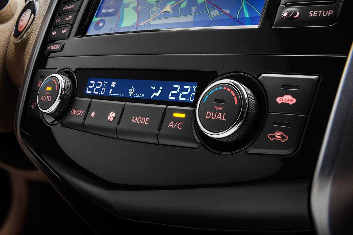 Nissan Teana: Открываем карты